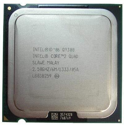 Intel Core 2 Quad Q9300 SLAMX SLAWE - Procesador de CPU (2,5 GHz, 6 MB, LGA775)