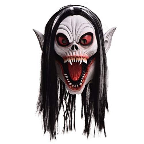 NA Vampire Morbius - Mscara para disfraz de ltex, para fiesta de disfraces, Halloween