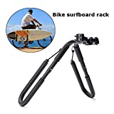 Kozart Surfboard Wakeboard Bike Rack Bicycle Surfing Carrier Mount to Seat Posts