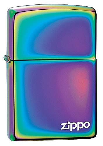 Zippo Zippo Feuerzeug–mit Logo, Messing, Spectrum, 3,5x1x5,5 cm Spectrum