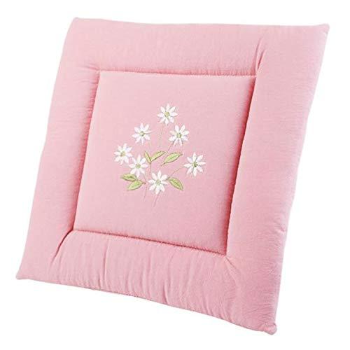 GTD-Cojines para Exterior, Cojines del Asiento, cojín de Silla de Comedor de jardín Interior con Correas Antideslizantes firmemente sujetas a la Silla - en 6 Colores (Color : Pink)