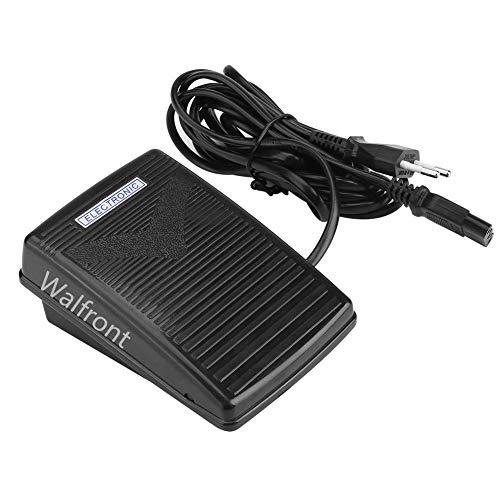 Walfront 200-240V Home Nähmaschine Fußpedal mit Netzkabel Nicht Geeignet für Singer- EU-Stecker(EU Plug)