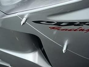 Chrome Spike Fairing & Windscreen Bolts for Honda CBR600RR CBR1000RR CBR 600RR 1000RR F3 F4i RR Kawasaki Ninja 250 300 500 ZX6R ZX10R Suzuki GSXR600 GSXR750 GSXR1000 GSXR 600 750 1000 Yamaha YZF R6 R1