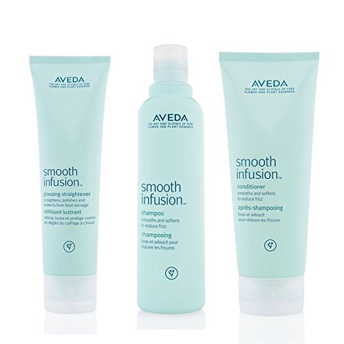 Aveda Smooth Infusion Trio- Champu, Acondicionador & glossing Cabello