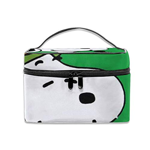 Snoopy Bolsa de maquillaje portátil de viaje organizador de cosméticos...