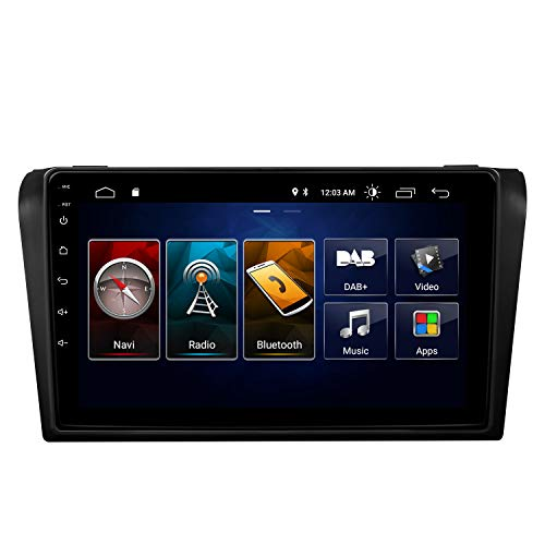 eonon GA9451B Android 10 fit Mazda 3 2006-2009 2G RAM 32G ROM Quad-Core 9' LCD Touchscreen Indash Car Autoradio GPS USB DSP compatible with Bose System Support 4×45W Bluetooth (NO DVD)