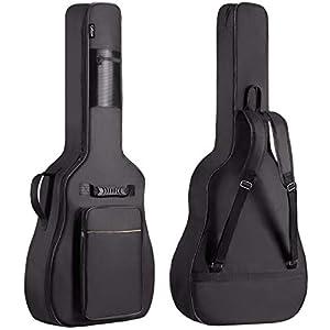 CAHAYA Gitarrentasche Akustikgitarre Gig Bag Guitar Case wasserdicht gepolsterte Gitarre Rucksack (verbesserte Version)