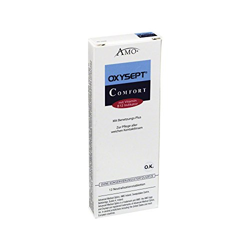 Oxysept Comfort Neutralisationstabletten mit Vit. B12 12 Stk., 1 Stück
