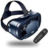 Gafas VR KAMLE 3D VR – para películas y juegos 3D, gafas 3D VR con controlador Bluetooth, compatible con smartphones de 3,5 ~ 6 pulgadas, para iPhone 7 7S/6 6S, Galaxy S8 S7, etc.