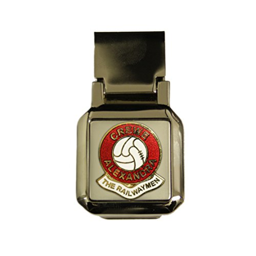 Awesome Gifts Football club money clip – Crewe Alexandra
