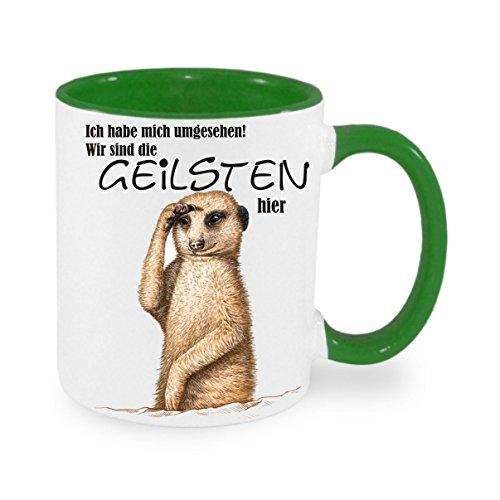 Creativ Deluxe Ich Habe Mich umgesehen wir sind die geilsten Hier Kaffeetasse mit Motiv, Bedruckte Tasse mit Sprüchen oder Bildern - auch individuelle Gestaltung nach Kundenwunsch