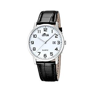 Lotus Reloj analógico para Hombre de Cuarzo con Correa en Piel 18239/1