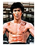 ZYHSB Bruce Lee Kung Fu Stern Poster Wand Wohnkultur