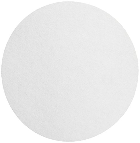 Whatman 1442-125 Ashless Quantitative Filter Paper, 12.5cm Diameter, 2.5 Micron, Grade 42 (Pack of 100)