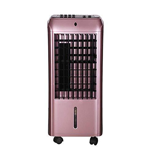 Hogar Calentador de Sala de Estar,Aire Acondicionado Ventilador portátil de casa, Inteligente del Ventilador de Doble Uso, pequeño refrigerador doméstico, Ventilador Industrial de Alta Potencia, v