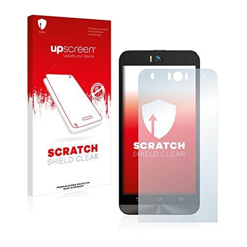 upscreen Schutzfolie kompatibel mit Asus ZenFone Selfie ZD551KL – Kristallklar, Kratzschutz, Anti-Fingerprint