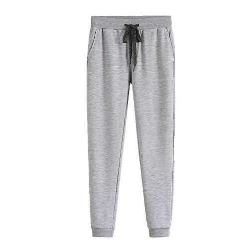 N\P Pantalones de deporte para hombre para correr, elásticos, para otoño e invierno