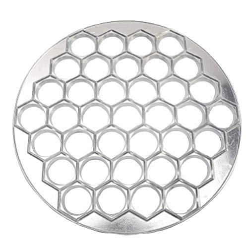 Nudeln Hersteller Gussform, Russische Pelmeni Hersteller und Ravioli Hersteller, 37 Löcher Material Aluminiumlegierung