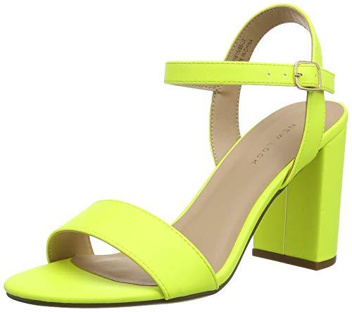 New Look Damen Sims 10 Riemchenpumps, Gelb (Bright Yellow 85), 38 EU