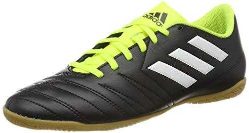 adidas Fußball Hallenschuh Copaletto IN, Herren Fußballschuhe, Schwarz (Schwarz/Weiß/Gelb 000), 47 1/3 EU (12 UK)