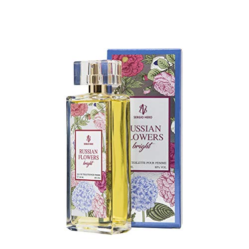 RUSSIAN FLOWERS Damenduftwasser,(Eau de Toilette) 100 ml - NEUES Blumenaroma für SIE (BRIGHT)
