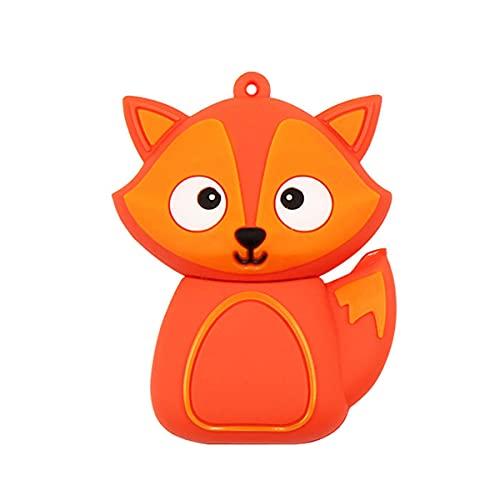 Chiavetta USB da 32 GB Simpatici animali Pen Drive Fox Memory Stick Thumb Drive Jump Drive Pendrive Flashdrive Regali per la scuola Bambini e studenti