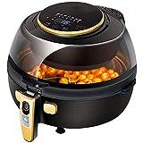 BBZZ Freidora de aire sin aceite de cocina casera inteligente de gran capacidad automática sin aceite freidora multifunción inteligente para papas fritas