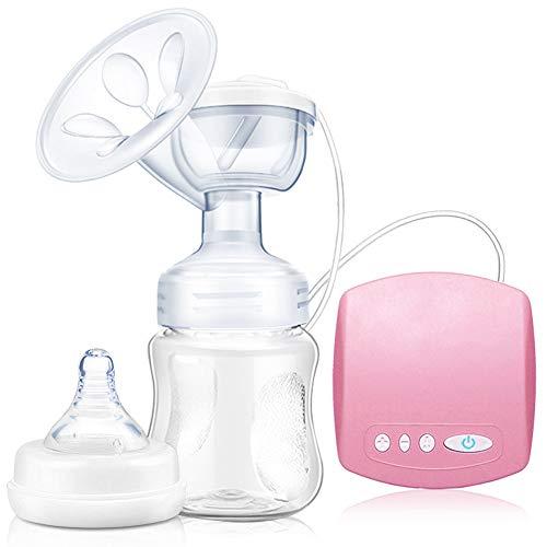 SunTop Elektrische Milchpumpe, Muttermilchpumpe, Wiederaufladbare Brustpumpe. 2 Modi 9 Saugstufen, BPA-frei, Anti-Rückfluss-Design
