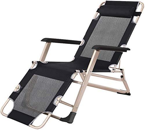 MFLASMF Productos para el hogar Sillones reclinables para Patio y salón Sillón para el Sol Sillón reclinable Plegable Silla reclinable para Playa Patio Jardín Camping al Aire Libre con Rep