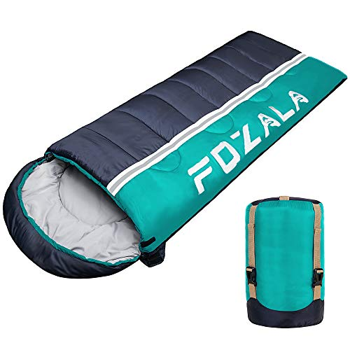Camping Sleeping Bag, Lightweight Waterproof Sleeping Bag Warm & Cool Weather for Indoor/Outdoor/Hiking/Backpacking/Traveling/Adults & Kids