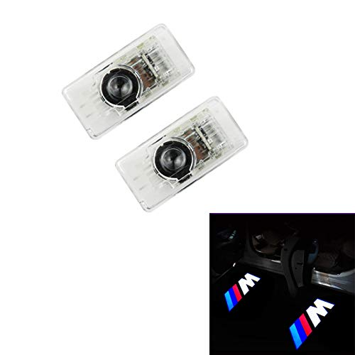 XUJINQI LED Car Door Welcome Light 4 X Cree Car Door Light Ghost Shadow Light Logo Projector for BMW New 3 Series (G21) 2019-2020