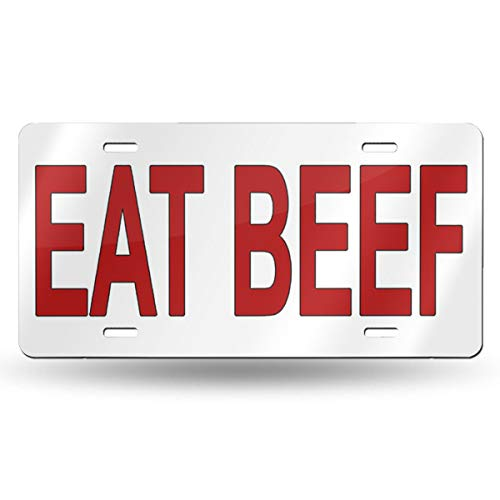 Lievon EAT BEEF Photo License Plate