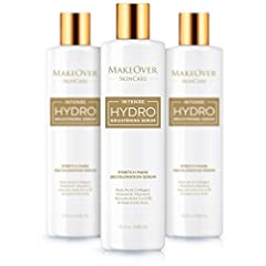 HYDRO BRIGHTENING SERUM- MakeOver Intense hydro brightening serum is an ideal remedy for stretch marks, dark circles, pink streaks, discoloration, spots and fine wrinkles. INNOVATIVE FORMULA- The serum has an innovative formula that includes kojic ac...