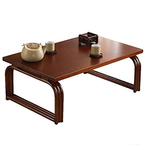 Coffee Tables Mesa de Centro Mesa Baja Moderna con Patas Curvas Mesa Decorativa Mesa Auxiliar Mesa de Tatami Mesa de té Zen para la decoración del hogar de la Sala de Estar ✅