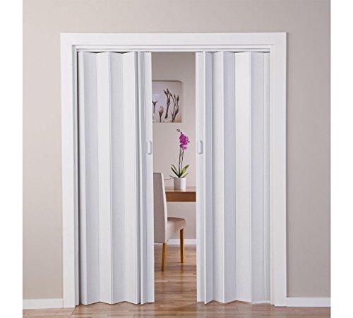 Roble blanco efecto doble puerta plegable (770045422)