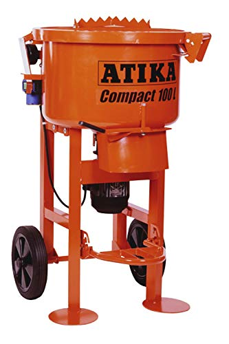 ATIKA Compact 100 Tellerzwangsmischer Betonmischer Zwangsmischer Mischer **NEU**