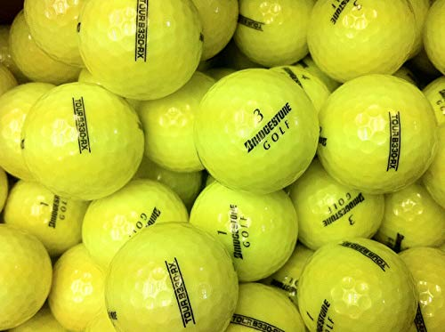Bridgestone Tour B330 RX Yellow AAAAA Pre-Owned Golf Balls