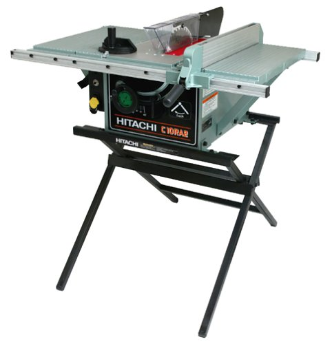 Hitachi C10RA2 10-Inch Portable Table Saw with Metal Stand (Discontinued by Manufacturer)