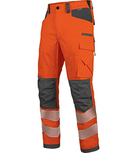 WÜRTH MODYF Warnschutz Bundhose Neon EN 20471 2 orange anthrazit: Die zertifizierte Arbeitshose aus der German Design Award Winner Kollektion 2019.