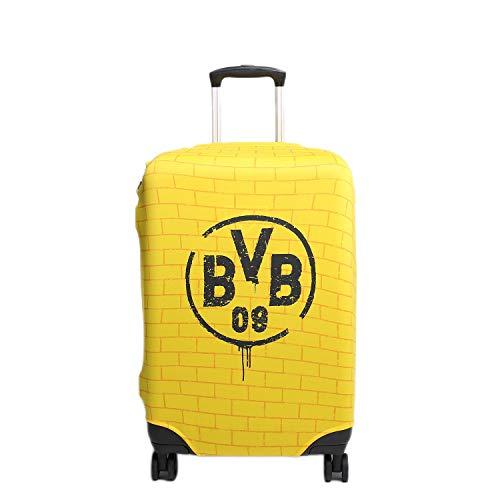 made2trade Offizielle MarkenMerch Kofferhüllen der Bundesliga Vereine - Borussia Dortmund - Größe L