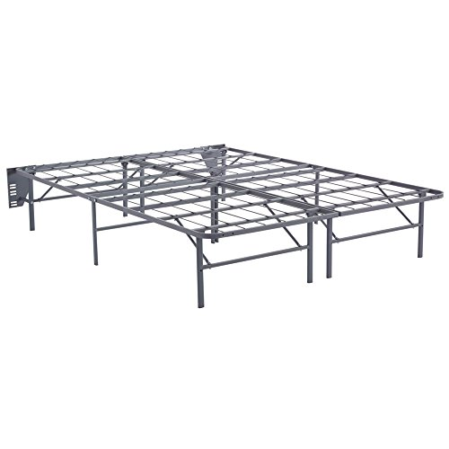 Ashley Furniture Signature Design - Better than a Boxspring -Mattress Riser - Under Bed Storage Space - Queen - Gray