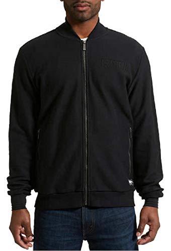 PUMA Men's Primetime Athletic Jacket, Cotton Black, Size Large