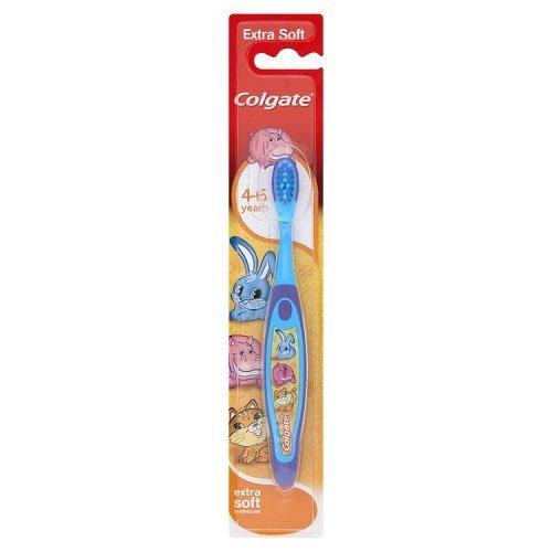 Colgate Smiles Kinder Zahnbürste 4–6Jahren (4Stück) farblich sortiert
