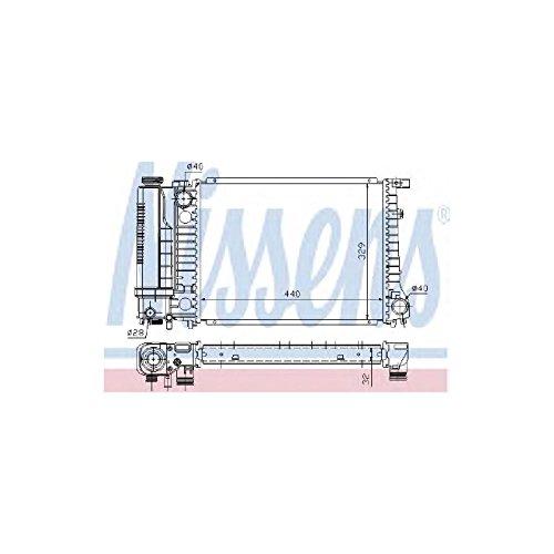 Nissens 60735A Refrigerantes del Motor