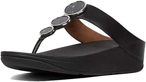 Fitflop™ Halo Womens Toe Post Sandals Schwarz 39 EU