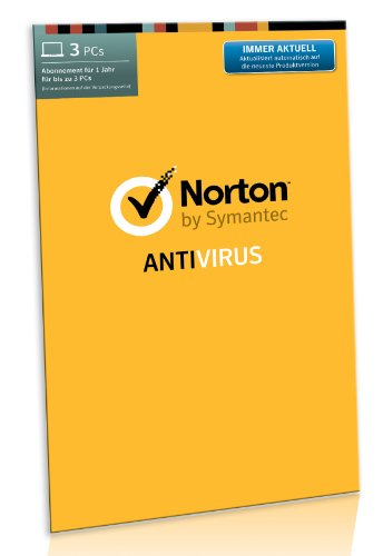 Norton Antivirus 2014 - 3 PCs [import allemand]