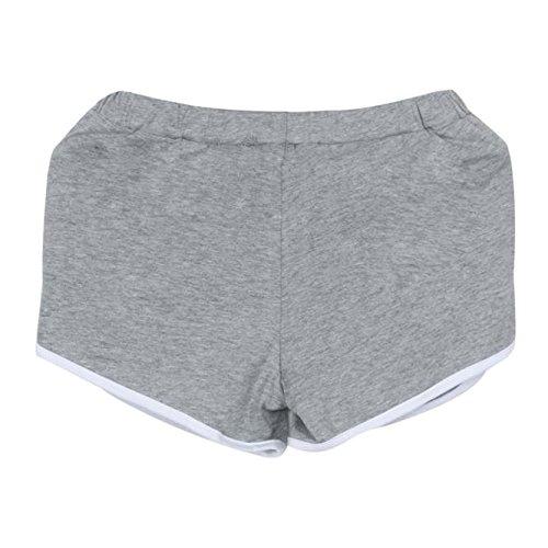 2021 Nuevo Mujer Leggings Pantalones Corto, Elásticos Mallas Color sólido Alta Cintura Pantalones Corto Moda Fitness Gym Yoga Slim Fit Cómodo Casual Pant Deportivos Running Jogging Pantalon