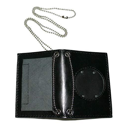 Dienstausweismäppchen COP NEUTRAL ID Kunstleder, rundes Fenster, Scheckkarte