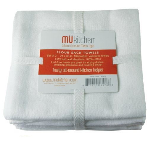 Top 10 Best Selling List for mu kitchen flour sack towels