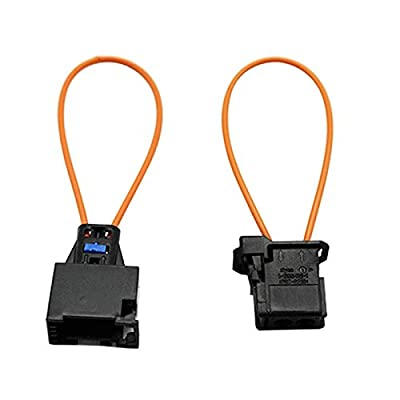 BianchiPatricia Automotive Fiber Optic Loop Plastic Test Ring Male & Female Kit Adapter de BianchiPatricia